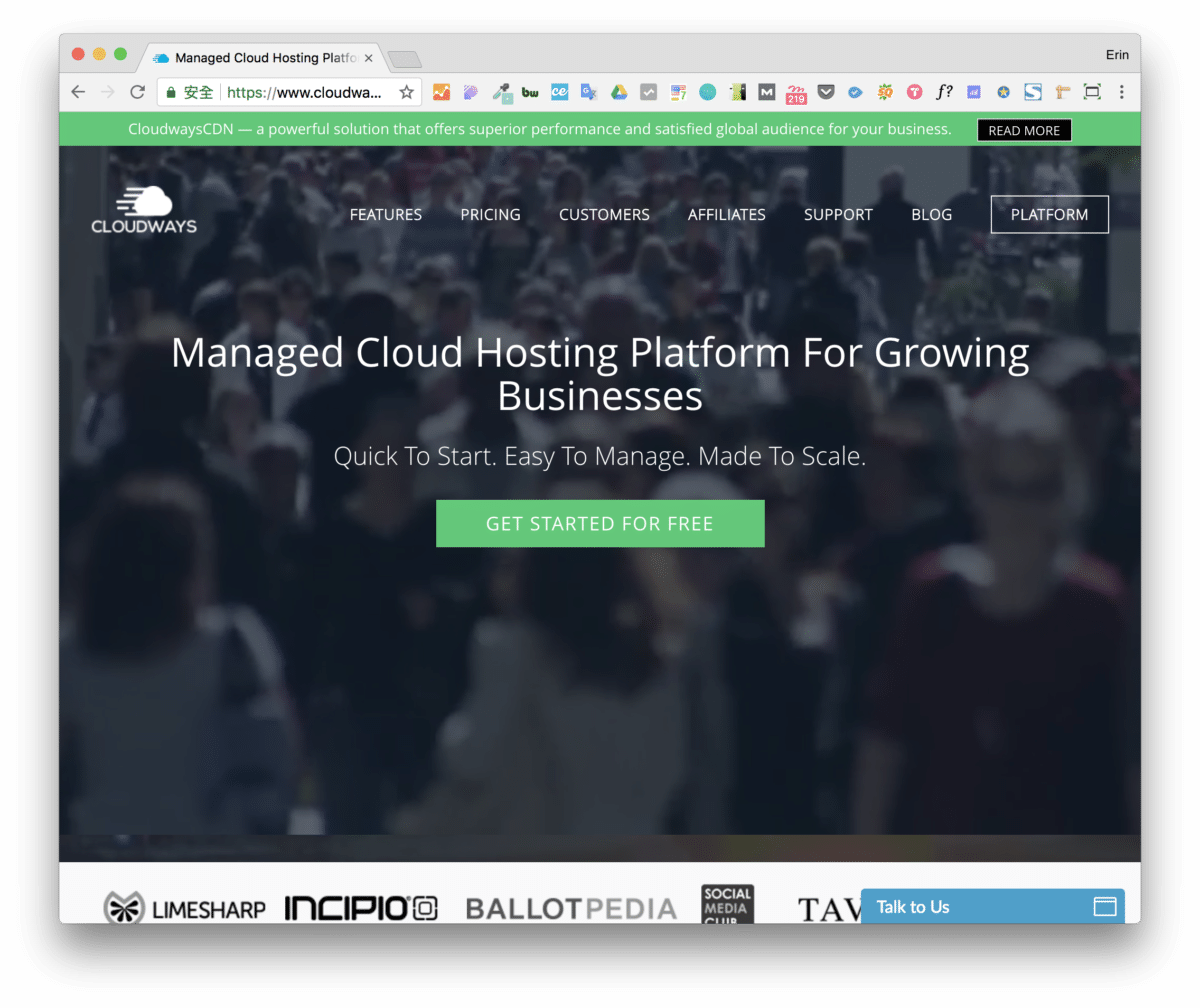 Erin Recommends Cloudways Hosting