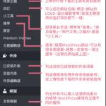 WordPress 控制台 - 新手教學