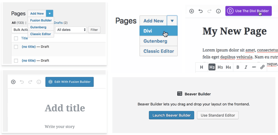 Gutenberg 古騰堡與其他編輯器的相容性