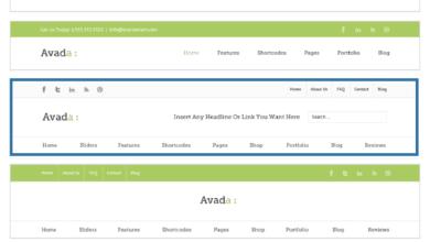 Photo of 如何客製化 Avada 主題的 LOGO 和選單區域