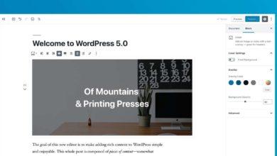 Photo of WordPress 5.0 正式發表,Gutenberg 新時代來臨!