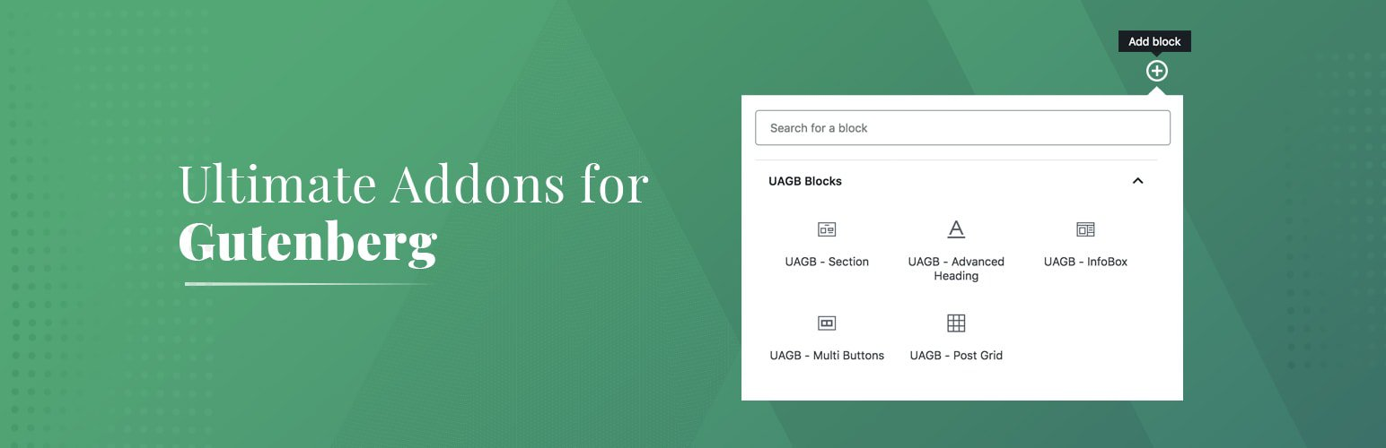Ultimate Addons for Gutenberg 區塊