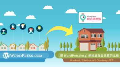 Photo of 從 WordPress.com 搬家到自己的主機  (換成WordPress.org) 終極攻略